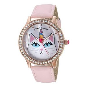 Betsey Johnson Unicorn Cat Watch